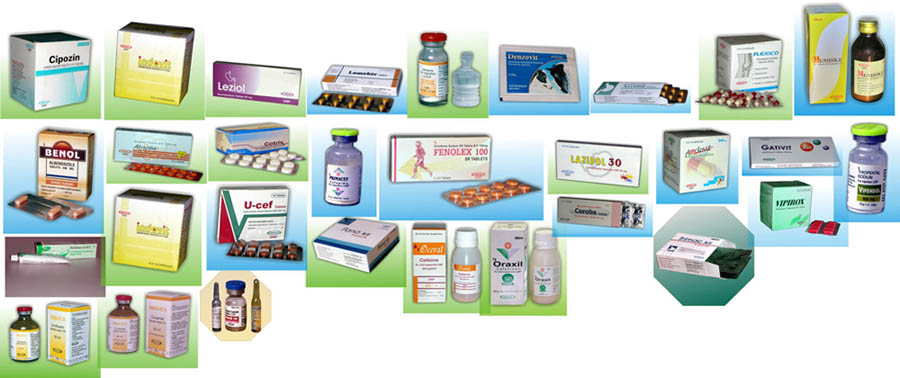 Manufacturer Vaginal, Tablets, Capsules, Injections, Syrup